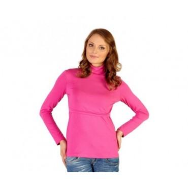 Водолазка Розовая для беременных и кормящих мам