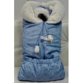 Комплект зимний для новорожденных Голубой