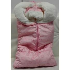 Комплект зимний для новорожденных Розовый