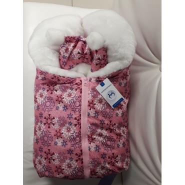 """Комплект для новорожденных зимний """"Я-150"""" Розовый"""