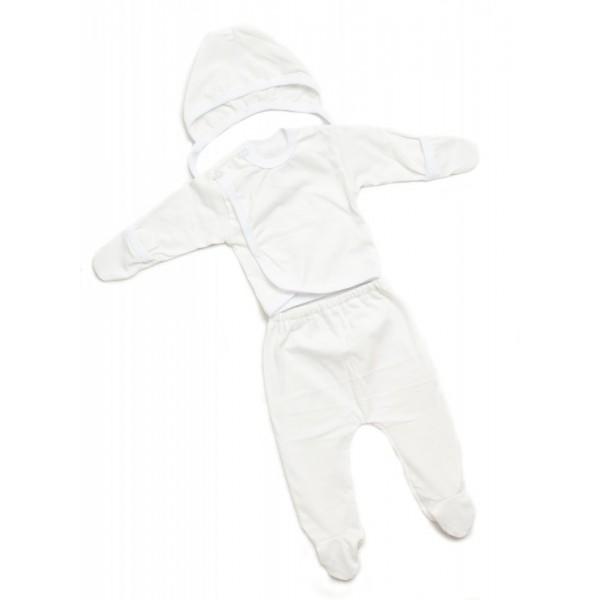 """Комплект для новорожденных Белый """"Я-319"""""""