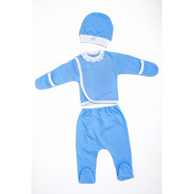 """Комплект для новорожденных Голубой """"Я-319"""""""