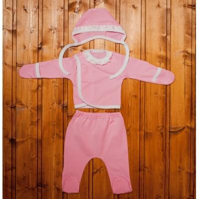 """Комплект для новорожденных Розовый """"Я-318"""""""