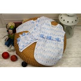 С 7 августа Комплект для новорожденного Голубой, Розовый
