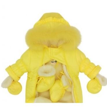 Комбинезон-трансформер Зима/деми лимонный