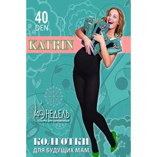 Колготки 40Den Katrin Nero для беременных