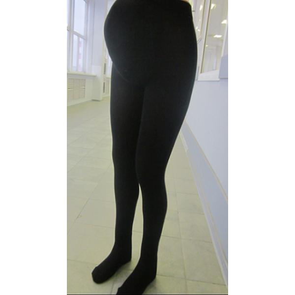 """Колготки 300Den """"Красивая мама"""" для беременных Черные"""