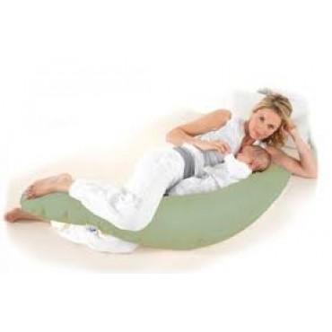 """Подушка """"U"""" Белый шоколад (350 см) для беременных"""