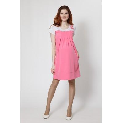 """Платье """"Тт555"""" розовый для беременных"""