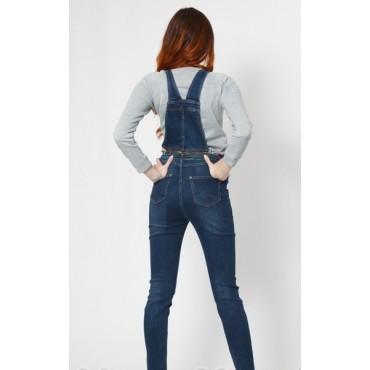 """Комбинезон джинсовый/джинсы """"tz 618"""" для беременных"""
