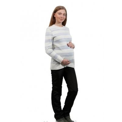 """Брюки балонь """"тт805"""" черные для беременных"""