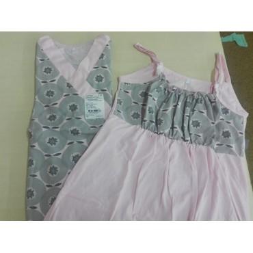 """Комплект """"8.18/1"""" для беременных и кормящих, розовый"""