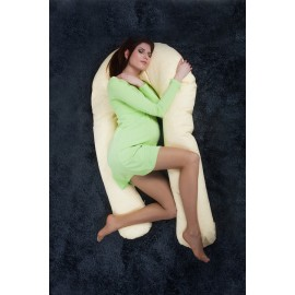 """С 4 августа Подушка """"Family"""" 350 см Сиреневый вьюн для беременных и кормления"""