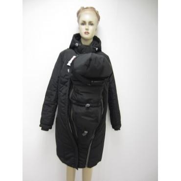 """Куртка 3 в 1 зимн. """"Пиканто"""" Черная"""