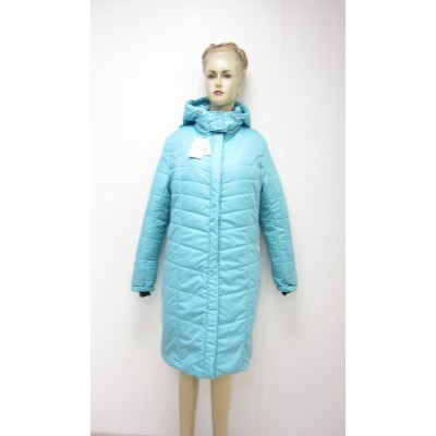 """QueenSize Куртка 3 в 1 зимн. """"Луиза"""" Бирюза"""