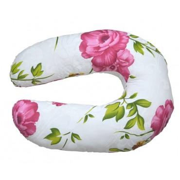 """Подушка """"Розовый шиповник"""" для беременных и кормления"""