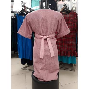 """Платье """"5090"""" Пыльная роза для беременных"""