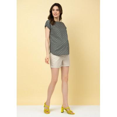 Блуза для беременных хаки