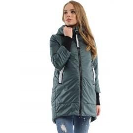 """Куртка для беременных демисезонная """"104837"""" можжевеловая"""
