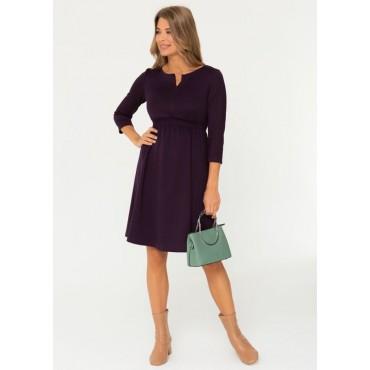 """Платье для беременных и кормящих мам """"130092"""" слива"""