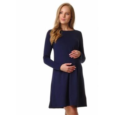 """Платье для беременных """"130082"""" синее"""