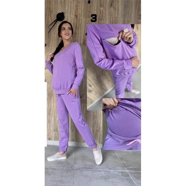 """Спортивный костюм """"902"""" для беременных лила"""
