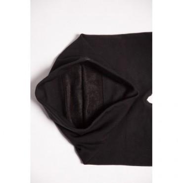 """Утепленные лосины для беременных """"Л001"""" на меху черные"""