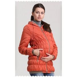 """Куртка для беременных демисезонная """"Ксения"""" рыжая"""