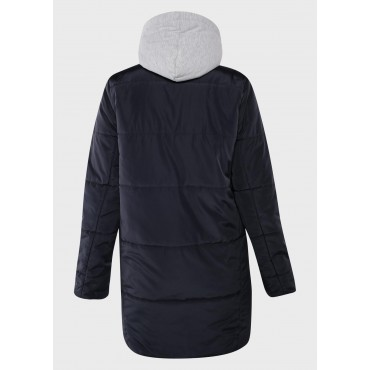 Куртка для беременных 103291 темно-синяя