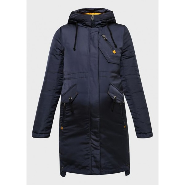 Куртка для беременных зимняя Синяя +слингоношение