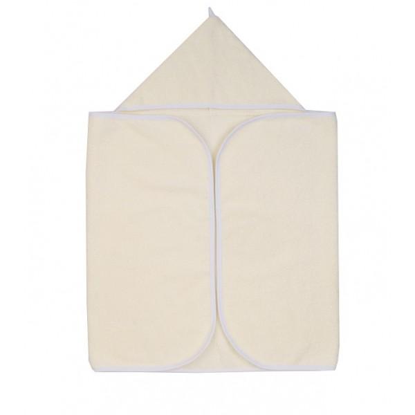 Полотенце для новорожденного для купания Молочное