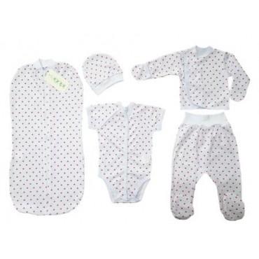 Комплект для новорожденных 5 предметов