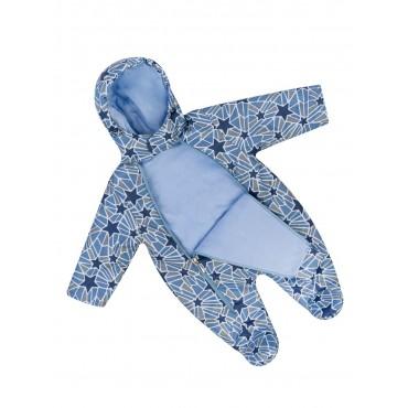 Комбинезон для новорожденных Голубого цвета