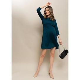 Летнее платье для беременных атлантик с секретом для кормления грудью