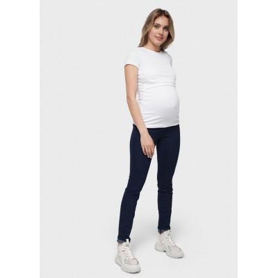 Джинсы зауженные для беременных