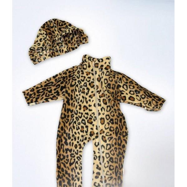 "Комбинезон детский флис ""Леопард"""
