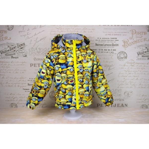 """Детская демисезон куртка """"Миньоны"""""""