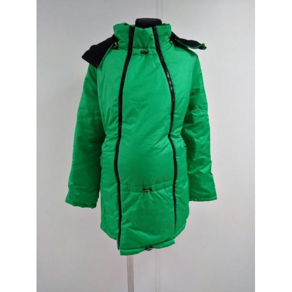 """Куртка демис. """"Хельга"""" 2в1 яблоко"""