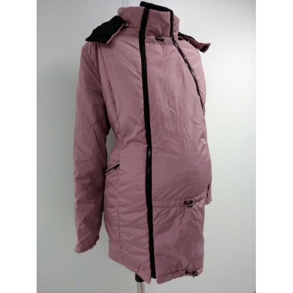 """Куртка демис. """"Хельга"""" 2в1 Пыльная роза"""