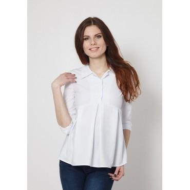 """Рубашка """"304"""" Белая для берем/кормл"""