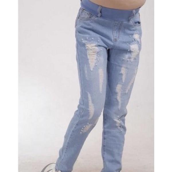 Летние джинсы для беременных бойфренды