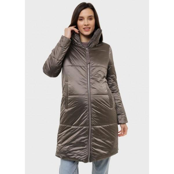 Куртка для беременных демисезонная цвет ореховый