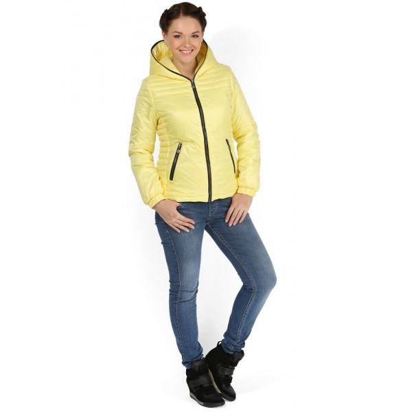 """Куртка""""Луиза"""" Желтая демисезонная  для беременных 2в1"""