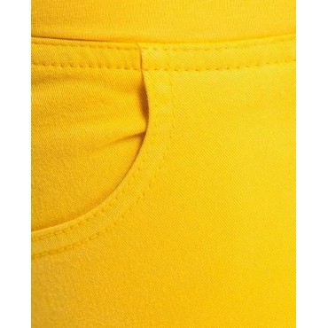 """Джинсы """"2д021308"""" желтые для беременных"""