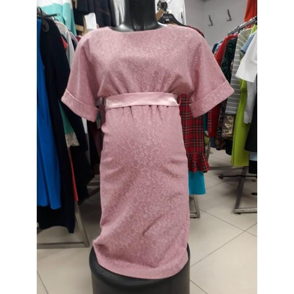 """Платье для беременных """"5090"""" Пыльная роза"""